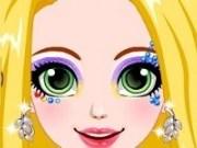 Rapunzel Machiaj Glittery