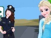 Elsa: Examen la scoala de soferi