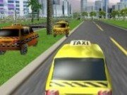 Cursa cu masini 3D Taxi