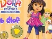 6 diferente cu Dora și prietenii