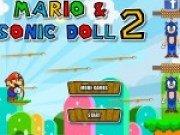 Joc de tras cu arcul cu Mario si Sonic