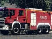 Jigsaw puzzle Camion de pompieri Scania