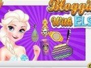 Elsa are propriul blog