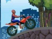 Spiderman cu Super Bicicleta
