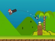 Mario Atac cu tunul