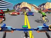 Simulator de Curse reale cu bicicleta 3D