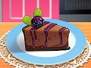 Cheesecake cu ciocolată si mure in Bucataria lui Sara