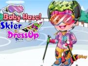 Baby Hazel Vacanta pe partia de Ski