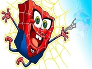 SpongeBob super erou Spiderman