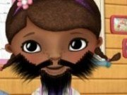 Doctorita Plusica experiment cu barba