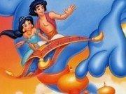 Aladdin Plansa de colorat