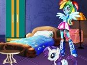 Fetele Equestria decoreaza dormitorul