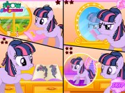 Twilight Sparkle la coafor