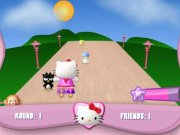 Patine cu role Hello Kitty