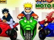 Cursa de motociclete cu naruto