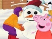 Peppa Pig si Omul de zapada