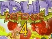 Tower defence cu fructele din gradina