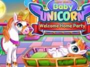 Petrecere de bun venit pentru unicorn
