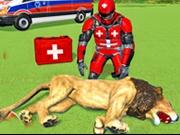 Simulator de salvat animalele din Safari