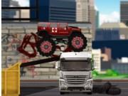 Ambulanta si masina politiei Monster Truck
