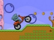 Rechin pe o motocicletă