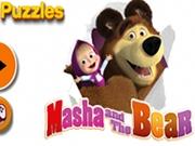 Puzzle Masha si Ursul