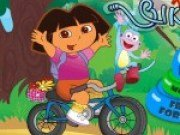 Dora pe bicicleta