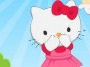 Hello Kitty se ascunde