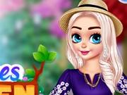 Elsa si Anna Amenajarea gradinii