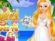 Rapunzel nunta in Hawaii
