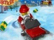 Lego City: Cursa cu bobul prin zapada