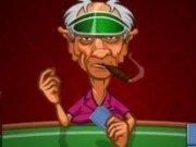 Bunicul joaca Poker