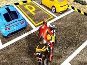 Condu si Parcheaza motociclete