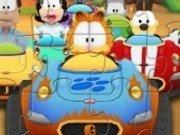 puzzle cu Garfield