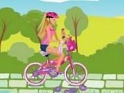 Barbie & Me plimbare cu bicicleta