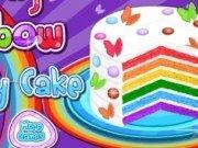 Gateste un tort curcubeu