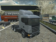 Camion american cu 18 roti Simulator