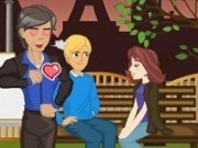 Saruturi cu indragostiti la Paris