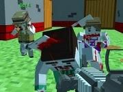 Shooting Zombie Blocky Gun Warfare