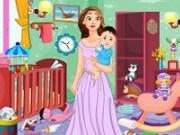 Rapunzel Curatenie in camera bebelusului