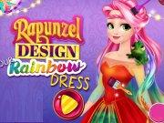 Rochii curcubeu cu Rapunzel