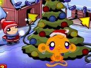 Monkey Go Happy editie de Craciun