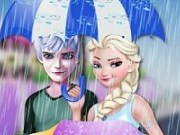 Elsa si Jack Ploaie torentiala