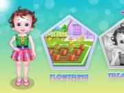 Bebelusa Lisi alergie de la flori