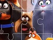 Jigsaw Puzzle Viata secreta a animalelor de companie