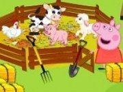 Peppa la ferma de animale
